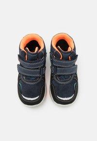 Lurchi - CHRISTIAN TEX - Classic ankle boots - dark navy/orange - 3