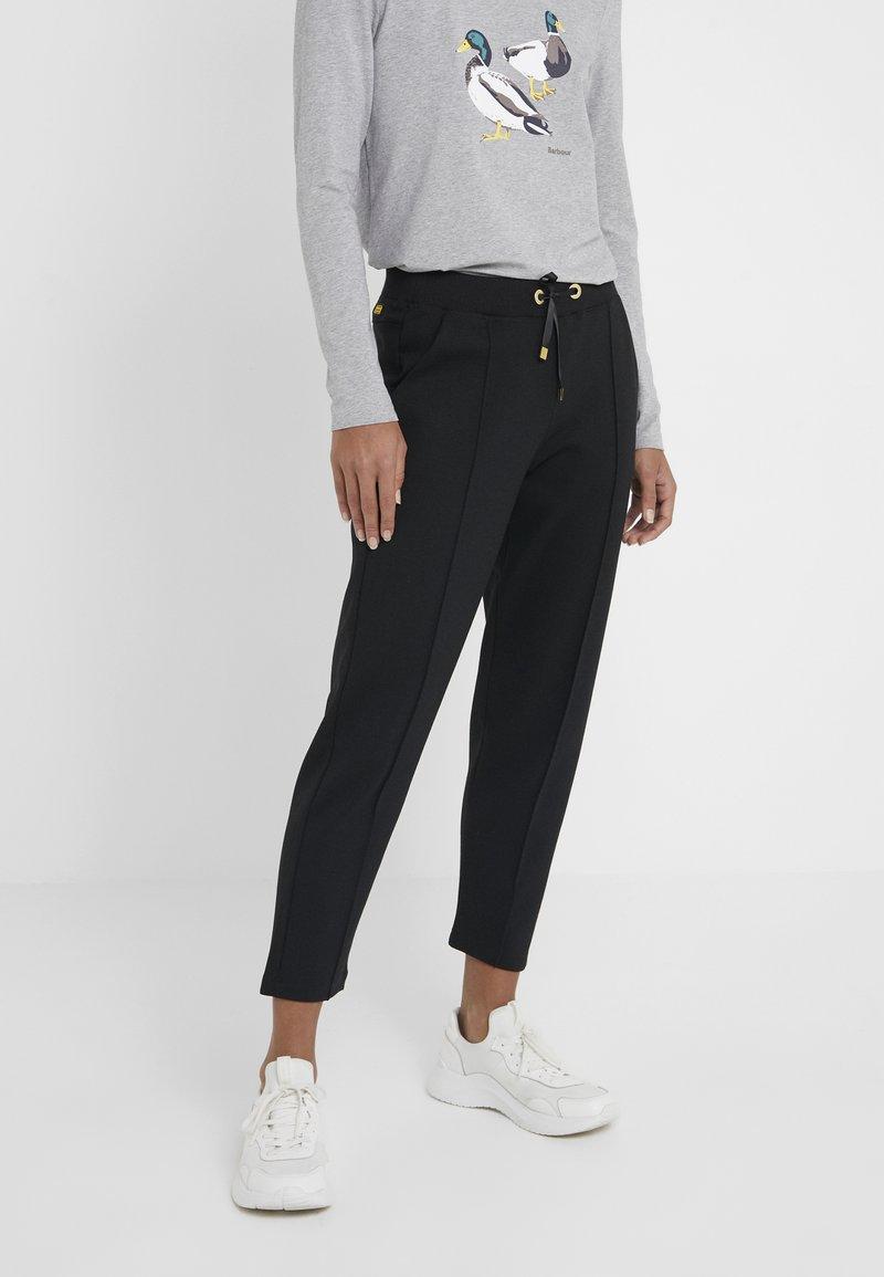 Barbour International - BANKSO TROUSER - Teplákové kalhoty - black