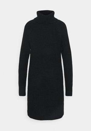 COWL NECK - Jumper dress - black