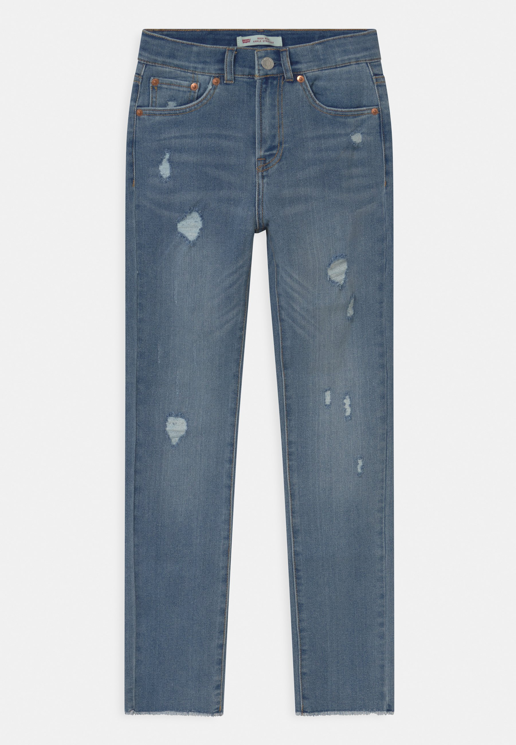 Kids HIGH RISE ANKLE STRAIGHT - Straight leg jeans