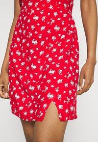 Hollister Co. - SHORT DRESS - Day dress - red - 4
