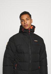 NAUTICA COMPETITION - ANTIGUA - Winter coat - black - 4