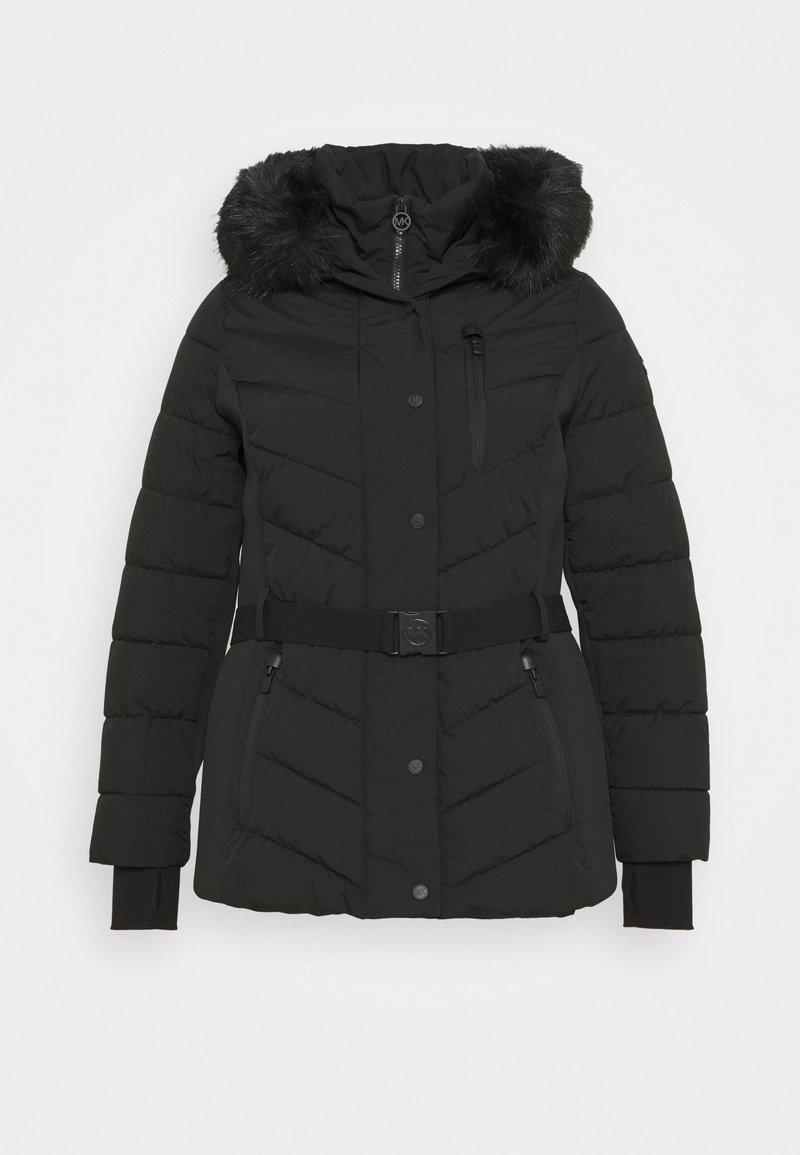 MICHAEL Michael Kors - SHORT BELTED - Winter jacket - black