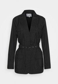 NA-KD - PATCH POCKET JACKET - Short coat - black - 0