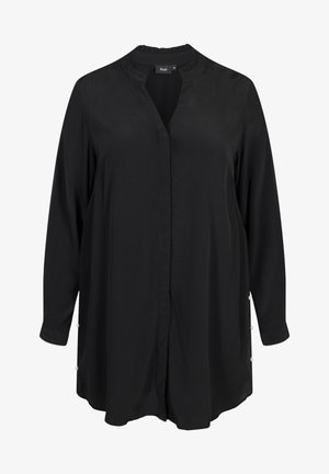 WITH PEARLS - Košile - black