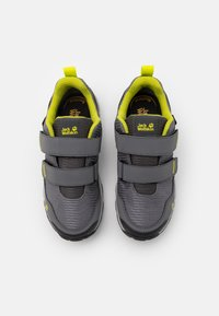 Jack Wolfskin - MTN ATTACK 3 TEXAPORE LOW UNISEX - Hiking shoes - grey/lime - 3