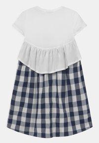 OVS - CHECKED - Korte jurk - bright white - 1