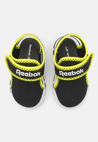 Reebok - WAVE GLIDER III UNISEX - Walking sandals - black/yellow flare/white - 3