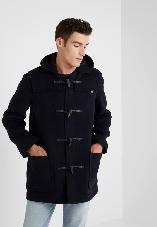 MID LENGTH DUFFLE - Short coat - navy