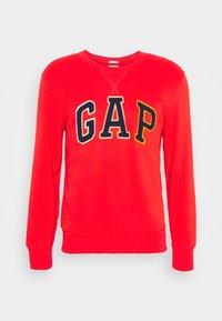 GAP - CHENILLE ARCH CREW - Sweatshirt - vermillion - 4