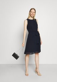 Esprit Collection - DRESS - Cocktail dress / Party dress - navy - 1