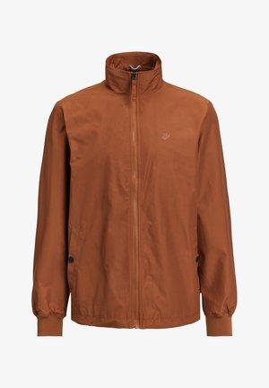 Leichte Jacke - rust brown