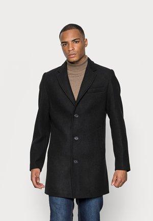 COAT CLASSIC - Short coat - black
