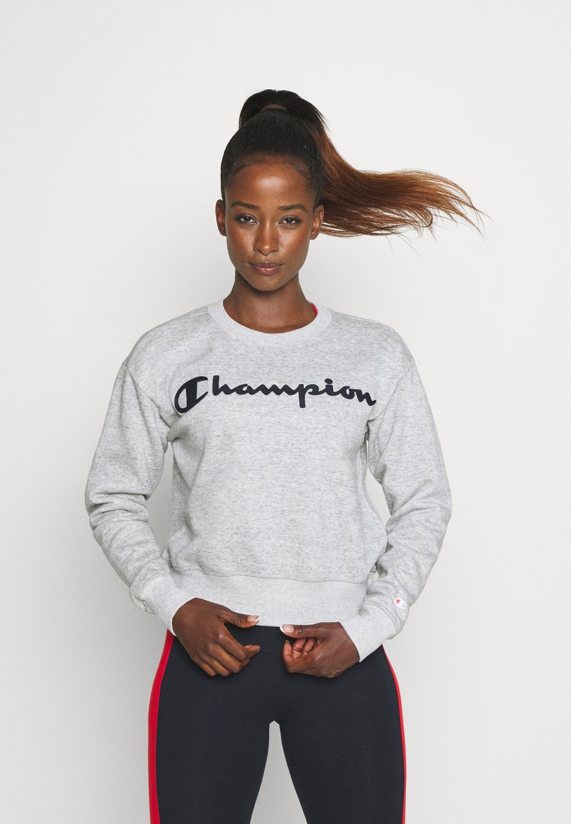 Champion - CREWNECK LEGACY - Collegepaita - mottled grey