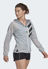 adidas Performance - AGRAVIC RAIN.RDY TRAIL RUNNING - Sports jacket - white - 7