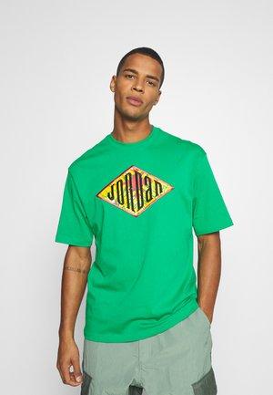 Print T-shirt - lucky green