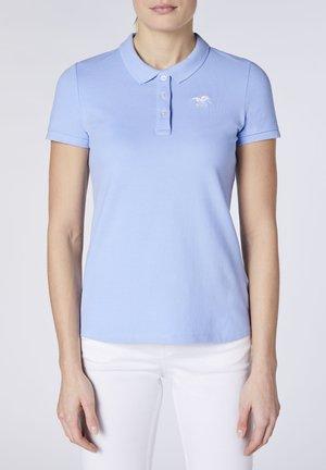 Polo shirt - brunnera blue