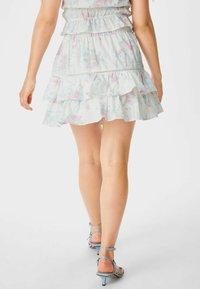C&A - ARCHIVE - Mini skirt - white - 2