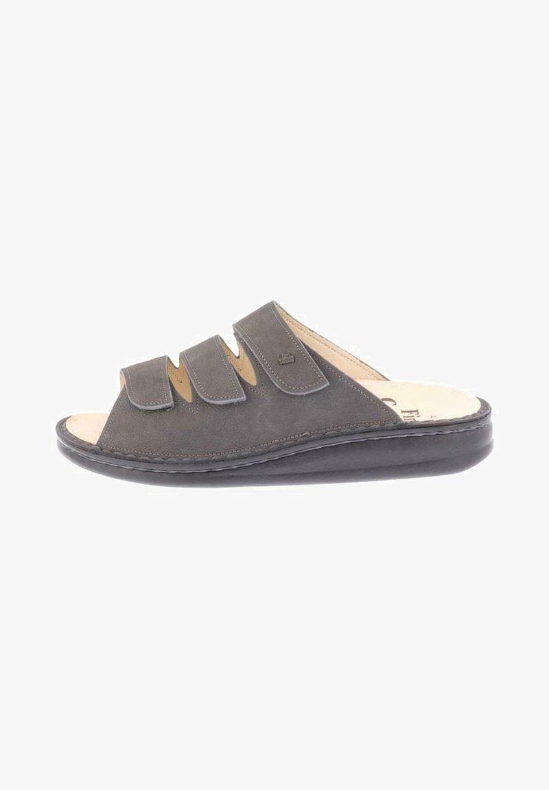 Finn Comfort - Slippers - bearreno darkgrey