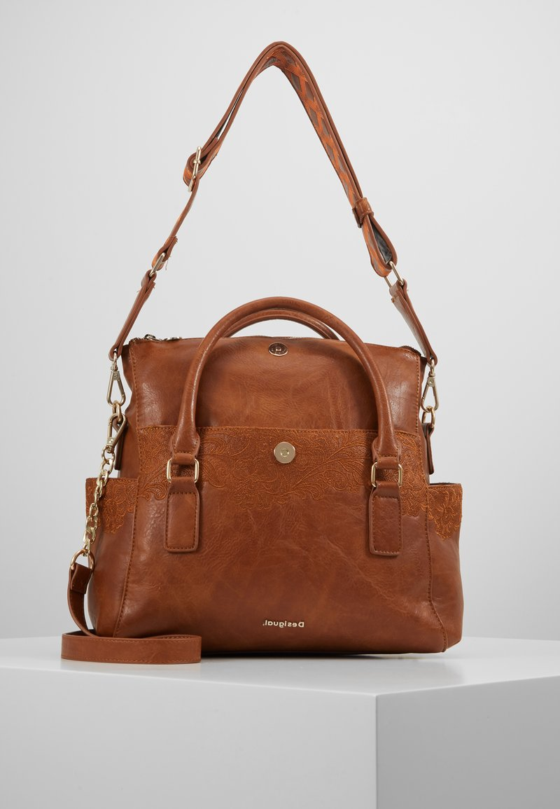 Desigual - MELODY LOVERTY - Shopping bag - camel oscuro