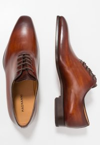 Magnanni - Smart lace-ups - coñac - 1