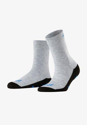 Socks - light grey mel