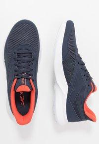 Reebok - QUICK MOTION 2.0 - Neutral running shoes - hero navy/white/vivid orange - 1