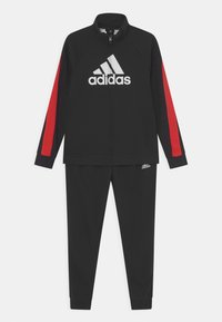 adidas Performance - SET UNISEX - Survêtement - black/vivid red/white - 0
