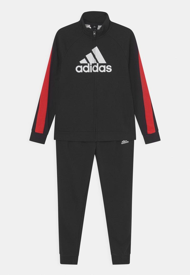 adidas Performance - SET UNISEX - Survêtement - black/vivid red/white