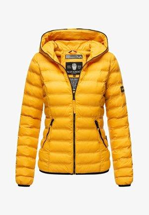NEEVIA - Winter jacket - dark yellow