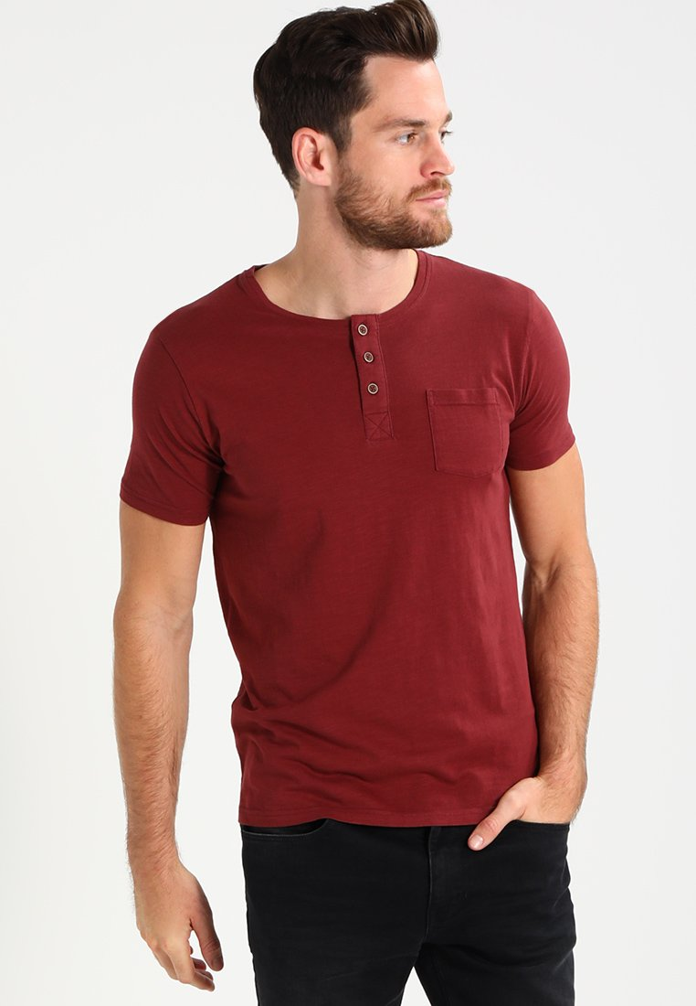 Tiffosi - BRIAN - Print T-shirt - red