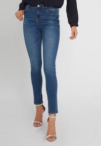 Morgan - Slim fit jeans - black denim - 0