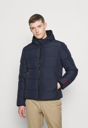 SPORTS PUFFER - Veste d'hiver - navy/black