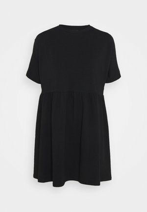 NMKERRY SHORT DRESS - Žerzejové šaty - black