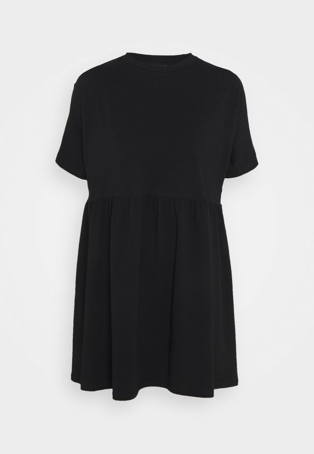 NMKERRY SHORT DRESS - Trikoomekko - black