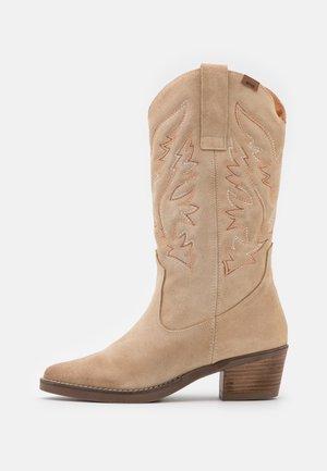 TEO - Cowboy/Biker boots - afelpado arena