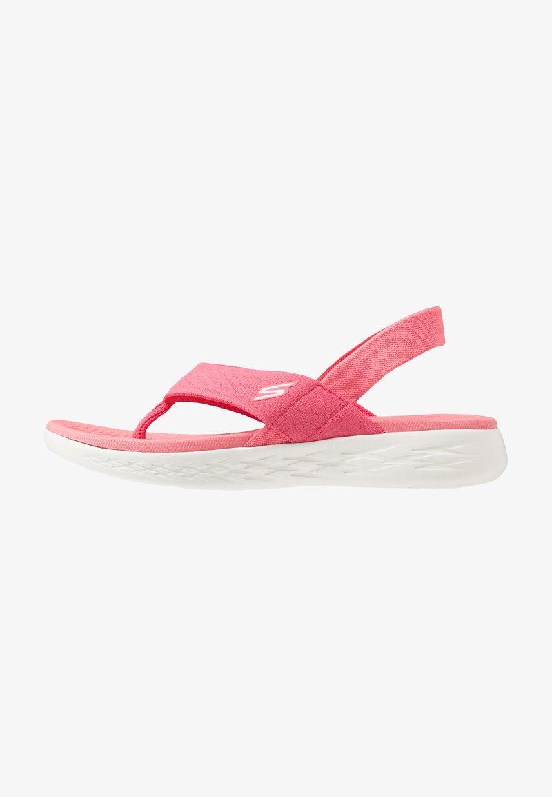 Skechers Performance - ON-THE-GO 600 - Sandalias de dedo - pink