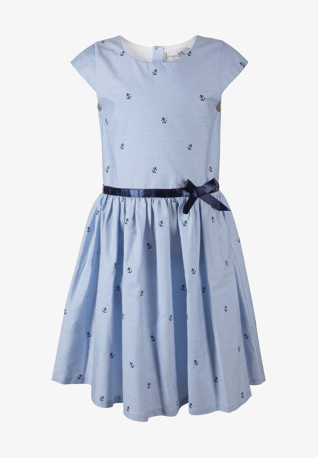 ANKER - Korte jurk - arctic blue