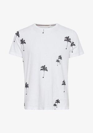 TEE - Print T-shirt - bright white