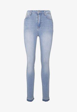 HIGH WAIST OPEN - Jeans Skinny Fit - light blue