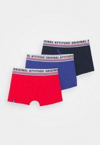 DIM - BOYS BOXER 3 PACK - Panties - matelot - 0