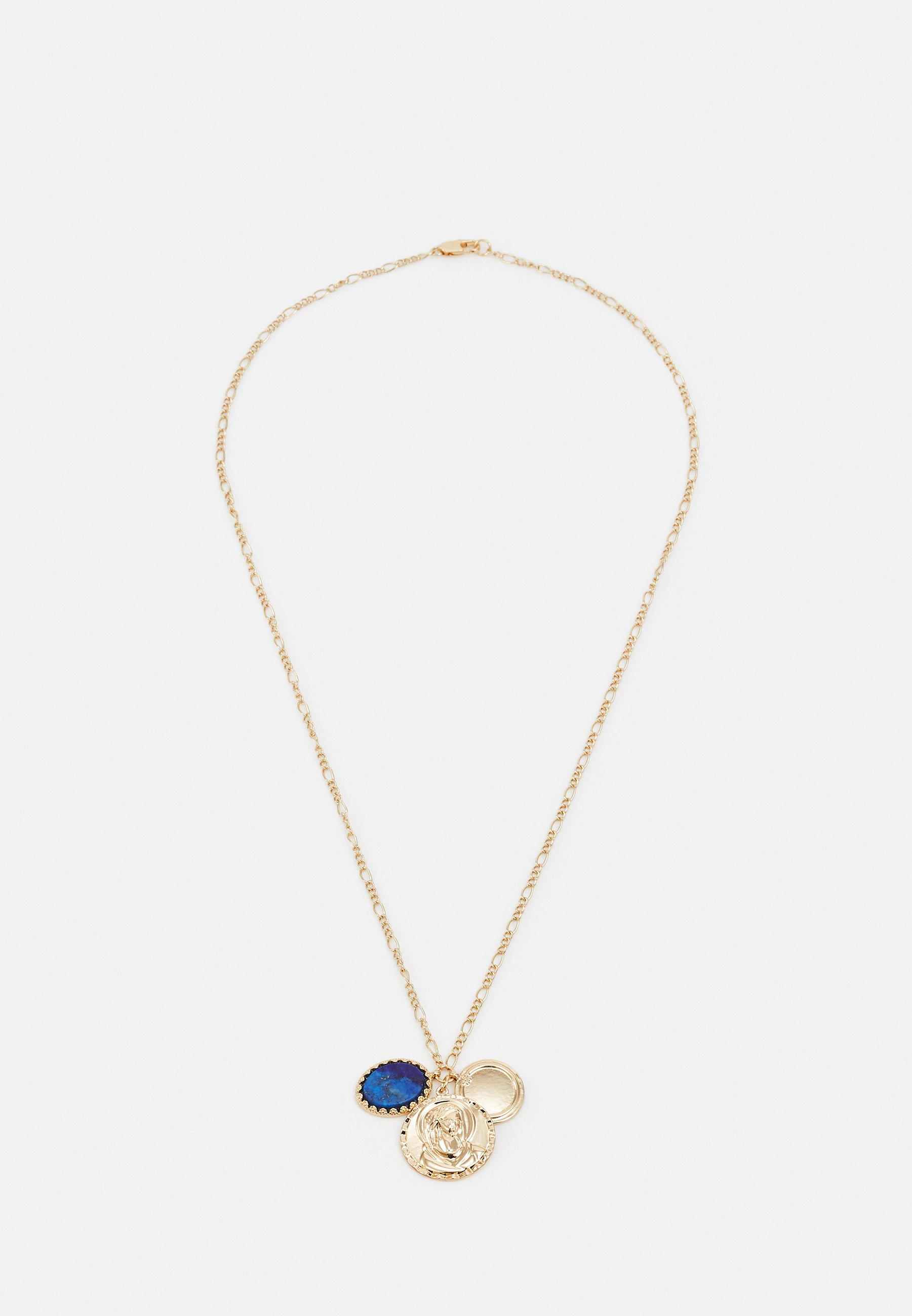 Homme RELIGIOUS COIN CLUSTER NECKLACE UNISEX - Collier