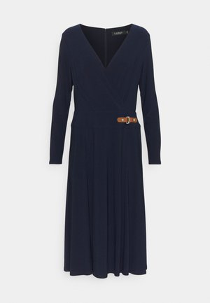 MID WEIGHT DRESS - Žerzejové šaty - lighthouse navy