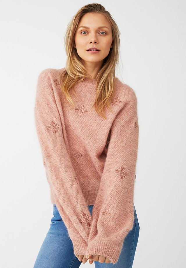 CLASSIC FIT - Jumper - pink