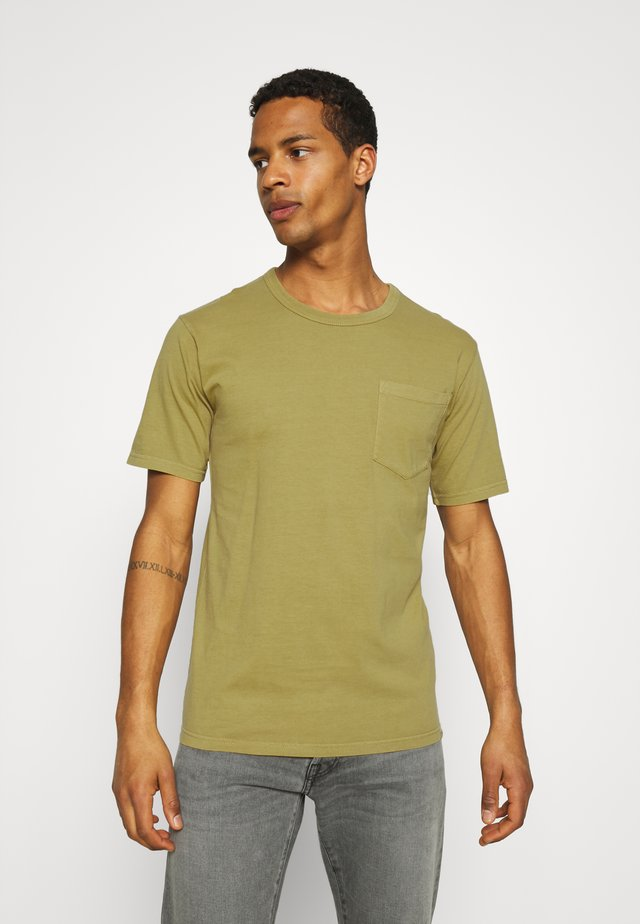 HARIS  - T-shirt basique - dried tobacco