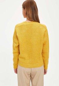 DeFacto - Cardigan - yellow - 2