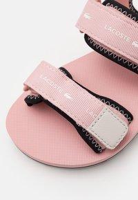 Lacoste - Sandals - light pink/black - 5