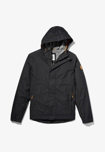 OUTDOOR HERITAGE PACKABLE SHELL - Outdoor jacket - black