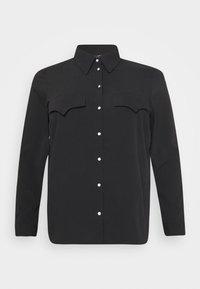 Vero Moda Curve - VMLOLENA CURVE - Košile - black - 5