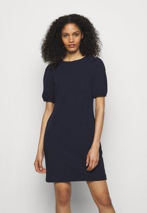 LUXE TECH DRESS - Shift dress - lighthouse navy